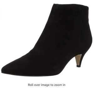 Sam Edelman Kinzey Fashion Boot, Black Suede, 8.5